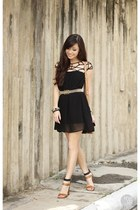 black Choies dress
