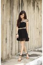 black Choies dress
