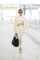white WAGW top - white WAGW pants