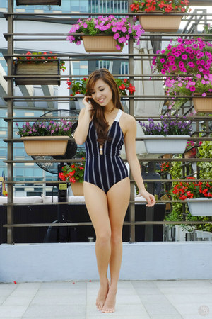navy cesa swimwear