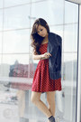 Ruby-red-clothes-for-the-goddess-dress-navy-gap-cardigan-white-keds-sneakers