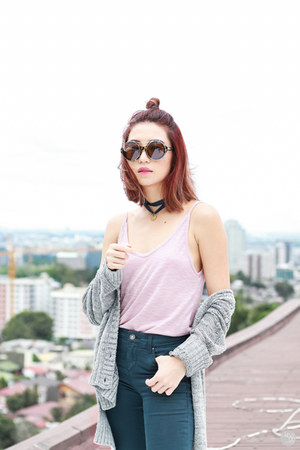light pink Urban Outfitters top
