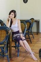 dark brown OMGFashion skirt