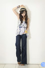 Navy-getwear-jeans-violet-f-x-top-yellow-extreme-finds-bracelet