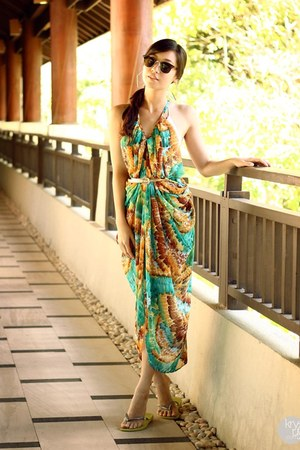 turquoise blue Dresscode Project dress