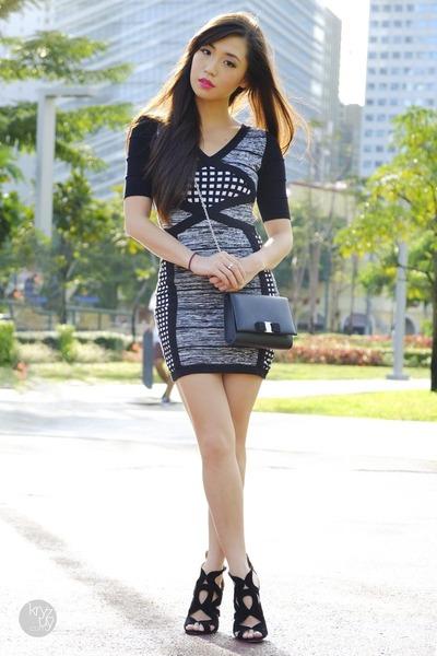 black furor moda dress