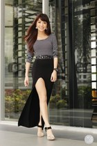 black Style Staple skirt - black WAGW top
