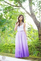light purple sabrina skirt