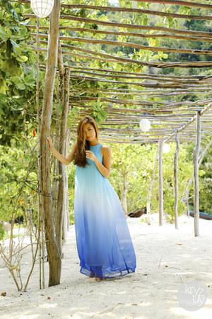 sky blue Sugar and Spark dress