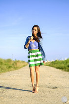 green Georgina Sasha skirt
