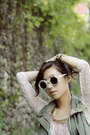 White-wildfox-sunglasses-olive-green-sm-gtw-vest