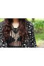 Black-stephie-says-dress-black-h-m-cape-black-sm-accessories-necklace