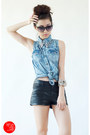 Black-h-m-shorts-bubble-gum-wagw-ring-sky-blue-yesstyle-top