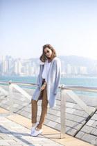 sky blue Tobi coat
