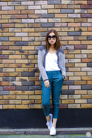 teal Dorothy Perkins pants