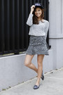 Black-wagw-hat-charcoal-gray-ylla-sandals-charcoal-gray-sheinside-skirt