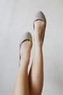 Beige-mango-top-beige-vintage-skirt-dark-brown-wagw-belt