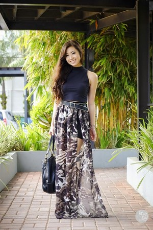 dark brown Dresscode Project skirt