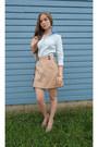 H-m-shirt-indiska-ring-gina-tricot-skirt-bershka-heels