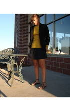 Jcrew shirt - Goodwill blazer - Target skirt - Steve Madden shoes