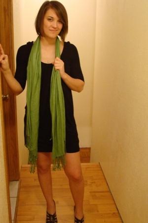 BCBG dress - scarf - BCBGgirls shoes