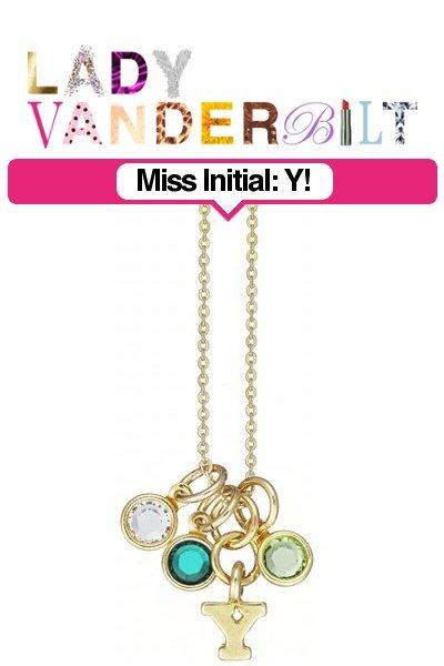 teal LADY VANDERBILT necklace