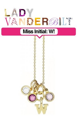 deep purple LADY VANDERBILT necklace