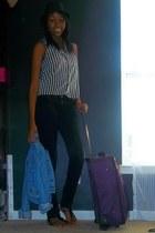 black Blue Asphalt jeans