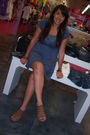 Blue-dress-brown-shoes