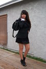 Black-delias-blazer-black-rue-21-shoes-black-f21-dress-black-bag