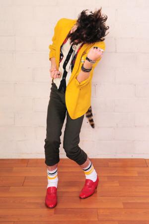 la vintage jacket - la vintage shirt - la vintage pants - la vintage shoes