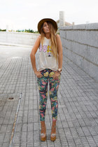 off white suspect Jeffrey Campbell shoes - army green tropico Fox House jeans