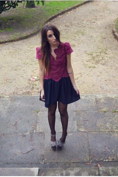 crimson berry bella Sugarlips dress