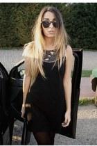 black AX Paris dress