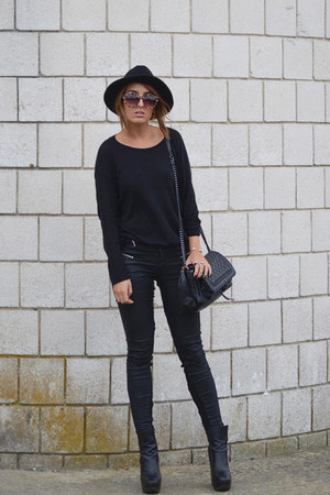 dark gray asos jeans