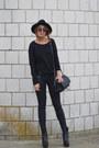 Dark-gray-asos-jeans