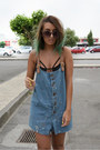 Blue-overalls-chicnova-pants