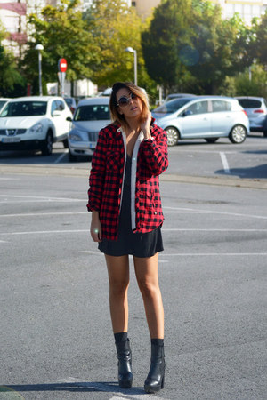 ruby red asos jacket