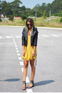 Black-nasty-gal-shoes-light-orange-one-teaspoon-dress