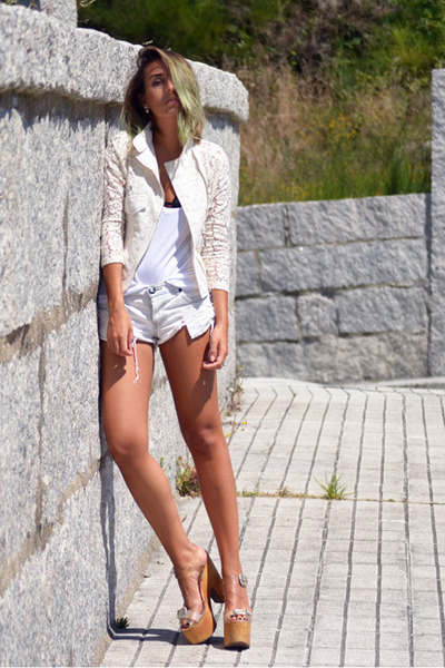 cream rosewe jacket