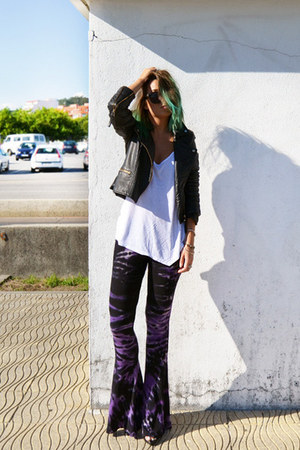 deep purple Stone Fox x Baked pants