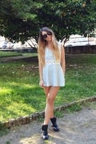 periwinkle denim Sheinside dress