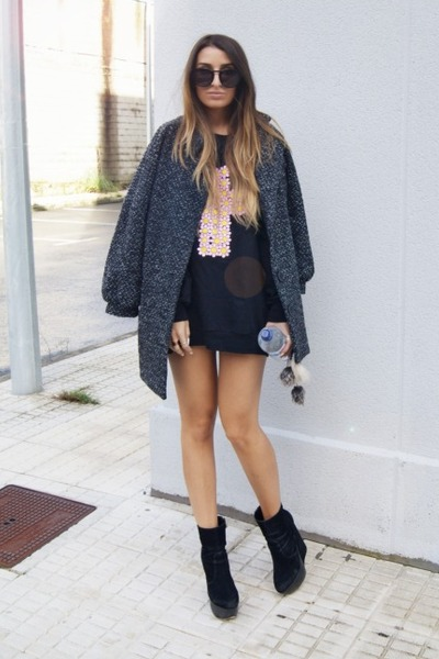 dark gray High Heels Suicide sweater