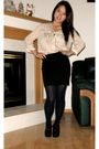 Beige-shirt-black-madden-girl-shoes-tights