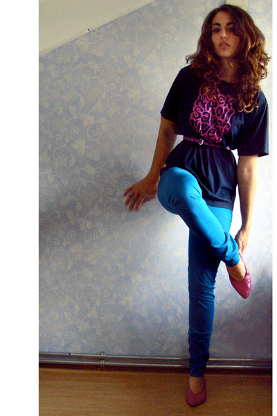 H&M pants - GioGio t-shirt - shoes