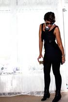 H&M dress - H&M leggings - vintage shoes