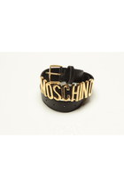 leather Moschino belt
