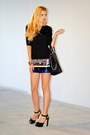 Leather-prada-bag-sequin-mango-dress-leather-zara-heels