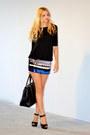 Sequin-mango-dress-leather-prada-bag-leather-zara-heels