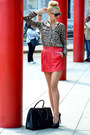 Leather-prada-bag-gucci-sunglasses-animal-print-zara-blouse